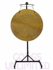 "38"" Wind Gong on the Meinl Gong/Tam Tam Pro Stand (TMGS-2)"