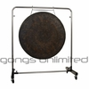 "40"" Mother Tesla on Astral Reflection Gong Stand"