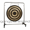 "40"" Solar Flare Gong on Astral Reflection Gong Stand"