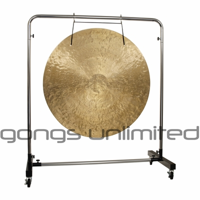 """40"""" Wind Gong on Astral Reflection Gong Stand"""
