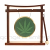 420 Gong on Pretty Chill Gong Stand - FREE SHIPPING