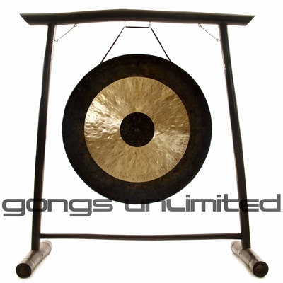 "44"" Chau Gong on the Vietnamese Bamboo Gong Stand - FREE SHIPPING - SOLD OUT"