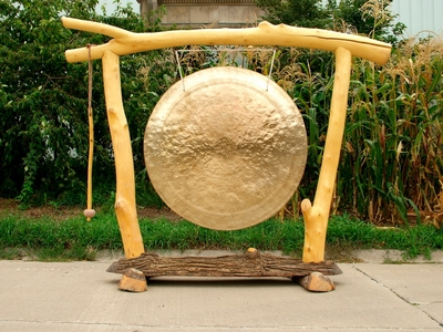 "52"" Wind River Gong and Stand with Special Mallet  - SOLD OUT"
