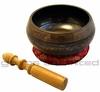 "5.5"" to 6"" Engraved Bronze Nepalese Singing Bowl SOLD OUT"