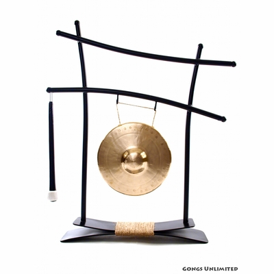 """7"""" Bao Gong on Parallel Universe Gong Stand - FREE SHIPPING"""