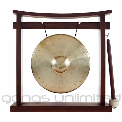 "7"" Bao Gong on the Pretty Chill Gong Stand - FREE SHIPPING"
