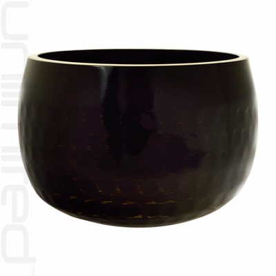 "7.5"" Black Ching Bowl (Temple Bowl Gong)"
