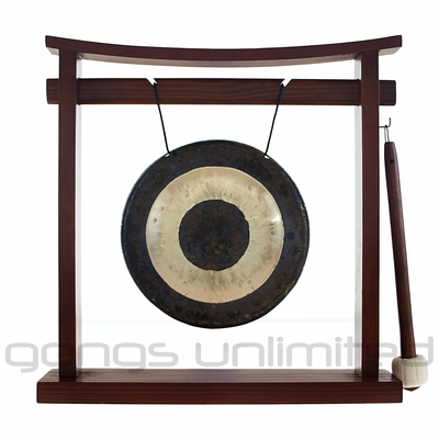 "7"" Chau Gong on the Pretty Chill Gong Stand - FREE SHIPPING"