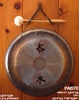 "7"" Paiste Deco Gong on Paiste Wall Hanger (DG05407) - FREE SHIPPING"