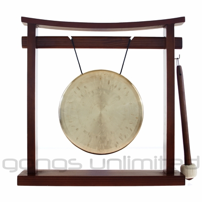 "COUPON CODE 7"" Ma Gong on the Pretty Chill Gong Stand - FREE SHIPPING"