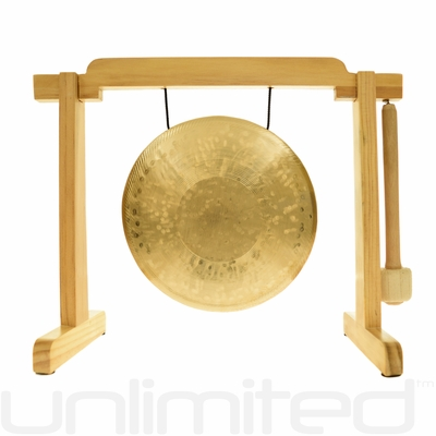 "7"" Ma Gong on the Tiny Atlas Stand - Natural - FREE SHIPPING"