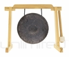 """7"""" Mother Bao on Tiny Atlas Gong Stand - Natural - FREE SHIPPING"""