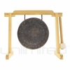 """7"""" Mother Tesla Gong on Tiny Atlas Stand - Natural - FREE SHIPPING"""