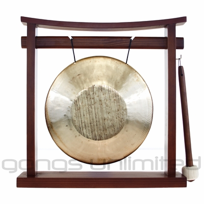 "8.5"" Opera Gong on the Pretty Chill Gong Stand - FREE SHIPPING - SOLD OUT"