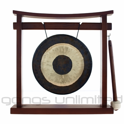 "8"" Chau Gong on the Pretty Chill Gong Stand - FREE SHIPPING"