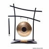 "8"" Chocolate Drop Gong on Parallel Universe Gong Stand - FREE SHIPPING"