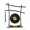 "8"" Dark Star Gong on Parallel Universe Gong Stand - FREE SHIPPING"