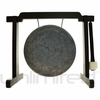 "8"" Mother Tesla Gong on Tiny Atlas Stand - Black - FREE SHIPPING"