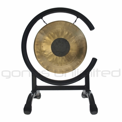 "8"" Chocolate Drop Gong on High C Gong Stand - FREE SHIPPING"