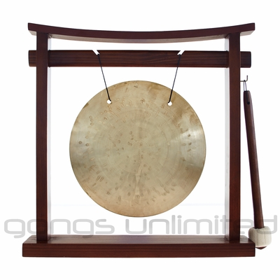 "8"" Wind Gong on the Pretty Chill Gong Stand - FREE SHIPPING"