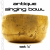 Antique Singing Bowls - Set 'C'