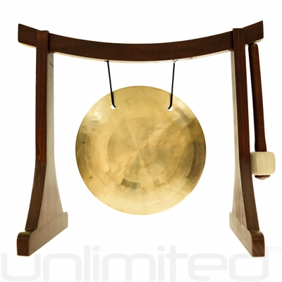 "7"" Wind Gong on the Lifting Buddha Stand - FREE SHIPPING"