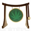 "7"" 420 Gong on the Lifting Buddha Stand - FREE SHIPPING"