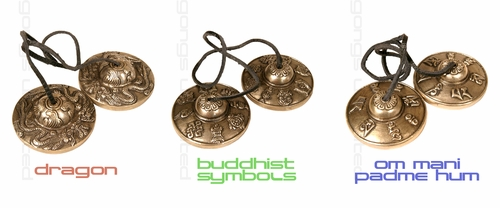 Buddhist Meditation Bells - Tingshas