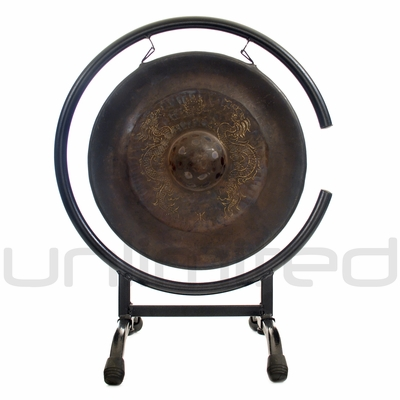 "12"" Vietnamese Dragon Gong on High C Gong Stand - FREE SHIPPING"