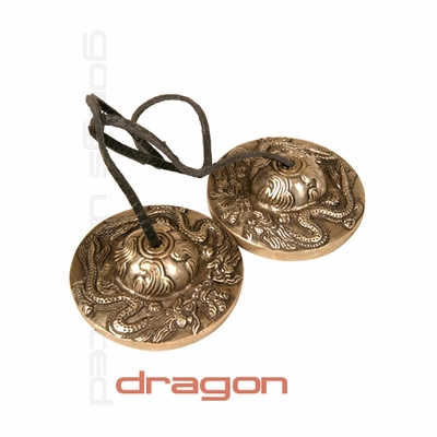 "3"" Dragon Tingsha (Meditation Bells) - SOLD OUT"