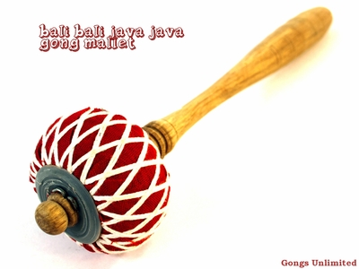 """Extra Medium Bali Bali Java Java Gong Mallet for 16"""" to 24"""" Gongs - From Gongs Unlimited"""