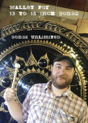 """Four Gongs Unlimited Gong Mallets for 13"""" to 15"""" Gongs"""