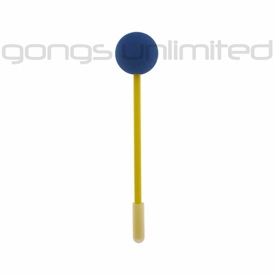 Blue Friction Gong Mallet by TTE Konklang - Short Handle (2KAC)