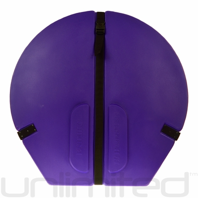 "Humes & Berg Hard Enduro Gong Case WITH PRO LINING for 30"" Gongs (PURPLE)"