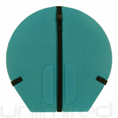 """Humes & Berg Hard Enduro Gong Case WITH PRO LINING for 32"""" Gongs (TEAL)"""