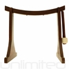 """Lifting Buddha Gong Stand for 6"""" to 7"""" Gongs - FREE SHIPPING"""