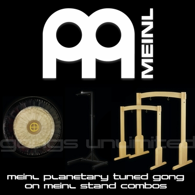 Meinl Sonic Energy Planetary Tuned Gong and Meinl Stand Combos