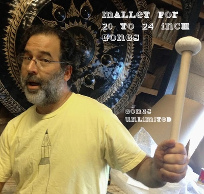 "One Gongs Unlimited Gong Mallet for 20"" to 24"" Gongs"