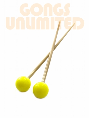 Pair of Yellow Rocky Mountain Superball Mallets - SOLD OUT