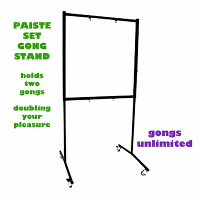 "Paiste Set Square Gong Stand for 20"" to 22"" Gongs (ST48522)"