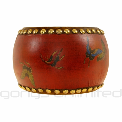 Red Butterfly Drum
