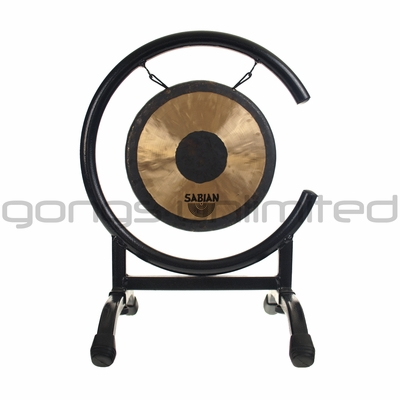 """Sabian 7"""" Chinese Gong on High C Gong Stand - FREE SHIPPING"""