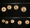 NEW LOW PRICE! Set of 9 Tuned Gongs from Steve Hubback - Very Gently Used - FREE SHIP
