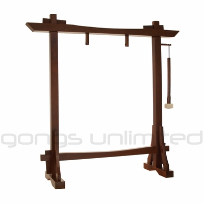 "Modern Antique Gong Stand for 22"" Gongs"