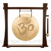 "22"" Om Wind Gong on Spirit Guide Gong Stand - FREE SHIPPING"