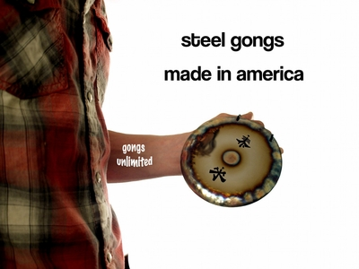 Steel Gongs MADE IN AMERICA
