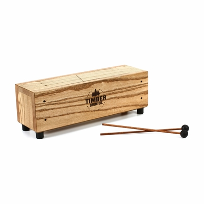 TreeWorks Timber Drum Company Slit Tongue Log Drum (T-18)