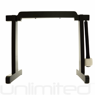 "Tiny Atlas Gong Stand For 6"" to 7"" Gongs (Black) - FREE SHIPPING"