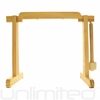 """Tiny Atlas Gong Stand For 6"""" to 7"""" Gongs (Natural) - FREE SHIPPING"""