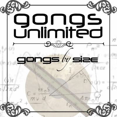 """Under 10"""" Gongs Unlimited Brand Chinese Gongs"""